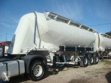Spitzer ITERNE PULVE 38T 37M3 3 ESSIEUX SUSPENSIONS AIR ABS ESSIEUX BPW semi-trailer used powder tanker