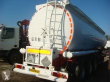 Fruehauf semi-trailer used oil/fuel tanker