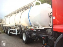 Used chemical tanker semi-trailer Magyar INOX
