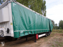 Krone Paper Liner SDP27 semi-trailer damaged tautliner