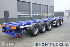 D-TEC container semi-trailer CT-53-05D | COMBITRAILER 20-30-40-45ft HC