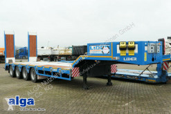 Heavy equipment transport semi-trailer LIDER LWBD 4 Achser/86 t./hydr. Rampen/13,6 m.