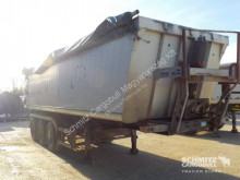 Schmitz Cargobull Tipper Alu-square sided body semi-trailer used tipper
