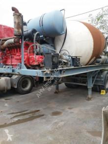 Félpótkocsi Stetter SEMIREMOLQUE CUBA DE HORMIGON 10M3 1989 2 EJES használt betonkeverő beton