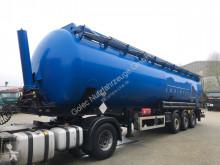 Feldbinder KIP 60.3 Silo für Staub und Rieselgüter 3 Achse semi-trailer