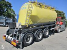 Semi remorque Van Hool SILO Zement - Sand / Cement - Sable 24 CUB citerne occasion