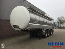 Burg BPO 13-28 RGZXX 31.000Ltr - 3 COMP. MILKTRANSPORT semi-trailer used tanker