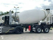 Euromix semi-trailer new concrete mixer concrete