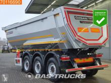 semi remorque nc 25m3 Stahl Kipper HARDOX 450 SAF Liftachse