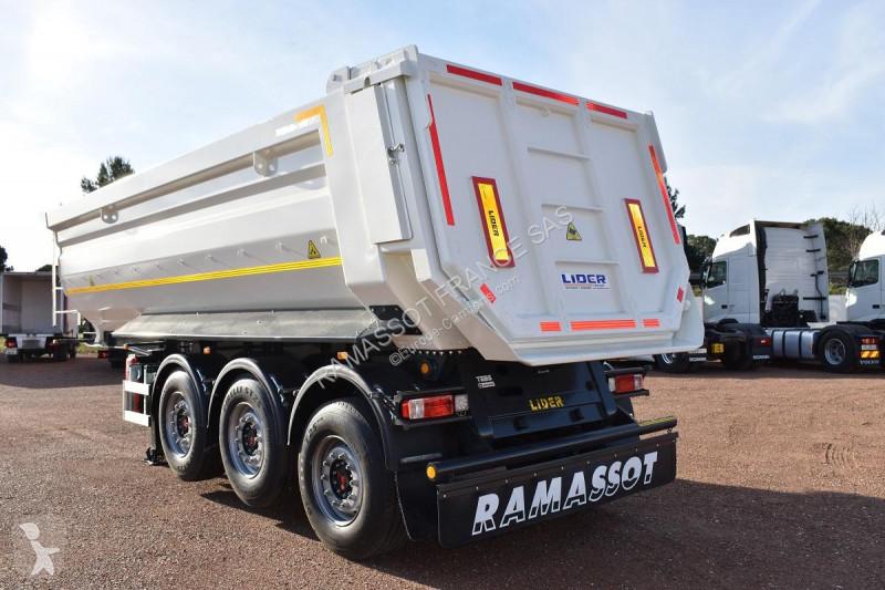 se bilderna Semitrailer Lider trailer HARDOX 450