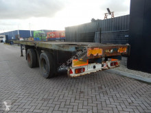 Semi reboque porta contentores Pacton 2x20 ft / 1x40ft / Double montage / Steel suspension