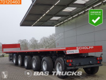 ES-GE 6-Axle Ballast trailer 85.000 GVW 5x Lenkachse 2x Liftachse Hardholz-Boden semi-trailer
