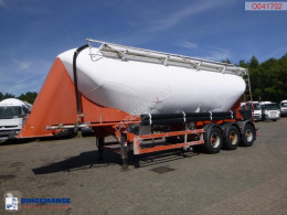 Spitzer Powder tank alu 39 m3 / 1 comp semi-trailer used tanker