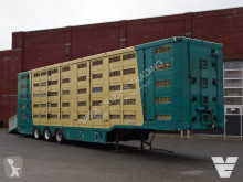 Menke 5 Stock Livestock trailer semi-trailer used cattle