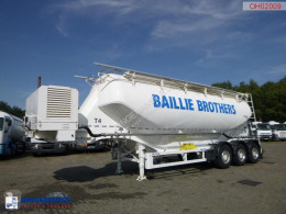 Omeps tanker semi-trailer Powder tank alu 40 m3 + engine/compressor