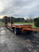 Fournier heavy equipment transport semi-trailer