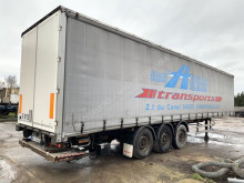 semi remorque Fruehauf TX34CS - SAF - DHOLLANDIA TAILLIFT / LBW - LIFT AXLE - ANTI THEFT CURTAINSIDES - CLEAN CHASSIS - NO ROST
