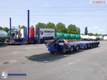Komodo flatbed semi-trailer 8-axle modular lowbed trailer KMD8 106 t / ext. 19 m / NEW/UNUSED
