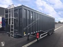 Trailer Gervasi 80m3 - double vérins - disponible sur parc prochainement nieuw metaalkipper