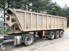 Benalu tipper semi-trailer 30m³ - Fruehauf Benne - 3-ESS. SMB - LAMES - alu / alu - bonne etat condition - SMB - STEEL SPRING - GOOD CONDITION
