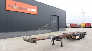 Yarı römork D-TEC 45FT HC, SAF+disc, ADR, 3x extendable, liftaxle, NL-Chassis, APK 07/2020