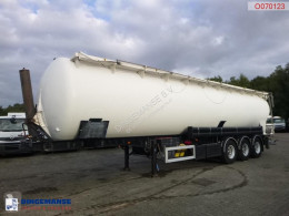 Feldbinder tanker semi-trailer Powder tank alu 63 m3 / 1 comp (tipping)