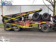 semi remorque Fruehauf Container 10 UNITS, 20 FT container chassis, Steel suspension