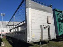 نصف مقطورة منصة حواجز الحاوية Schmitz Cargobull PLATEAU RIDELLES