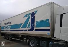 naczepa furgon furgon drewniane ściany używany
