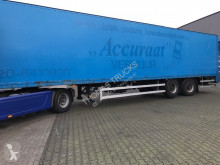 Desot 2-asser, Kasten, Laadklep 2.000 Kg, Stuur-as Lift-as semi-trailer used