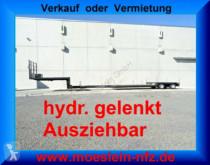 semi remorque nc 2 Achs Tiefbett- Satteltieflader, Ausziehbar un