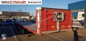 Fruehauf DISPO MINES 1AN semi-trailer used flatbed