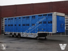 Michieletto 3 Stock Livestock trailer semi-trailer used cattle