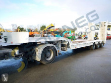 Castera heavy equipment transport semi-trailer SS343B/3essieux