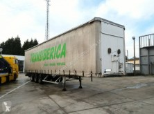 Fruehauf full steel frame tri axle 34 ton with lifting roof semi-trailer