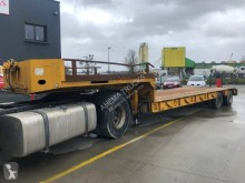 Robuste Kaiser Porte engins 2 essieux semi-trailer used heavy equipment transport
