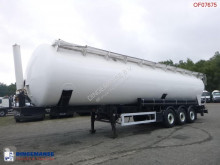 Feldbinder Powder tank alu 63 m3 (tipping) semi-trailer used tanker