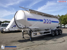 Powder tank alu 40 m3 / 1 comp semi-trailer used tanker