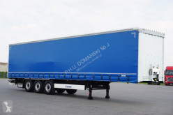 Krone - FIRANKA / XL / MULTI LOCK / OŚ PODNOSZONA semi-trailer used tautliner
