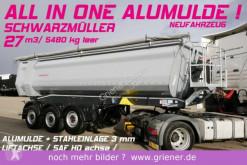 semi reboque Schwarzmüller K serie /ALUMULDE 5480 KG 27m³/STAHLEINLAGE HARD