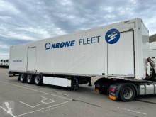 Krone SDP 27/ STAHLKOFFER TEXTIL / 2 x TÜRE semi-trailer used box