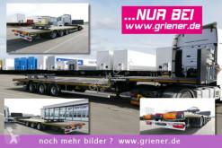 semi remorque Kässbohrer JS / JUMBO PLATEAU / LIGHT / 6500 kg / LENKACHSE