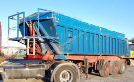 Trailor tipper semi-trailer S343 Stahl / Alu Luft 33 m³ 322