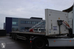 Samro flatbed semi-trailer ST39