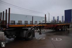 Flatbed semi-trailer SCHMIT-15.5M-Uitschuifbaar/ext