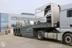 Burg BETON TRANSPORT + 5 SLEDES semi-trailer used flatbed