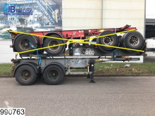 semiremorca Asca Container 10 UNITS, 20 FT container chassis, Steel suspension