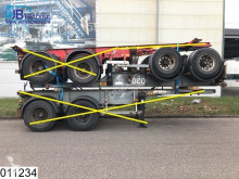 trailer Asca Container 10 UNITS, 20 FT container chassis, Steel suspension