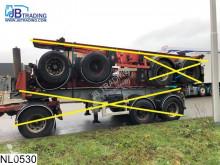 弗吕霍夫半挂车 Container 10 UNITS, 20 FT container chassis, Steel suspension