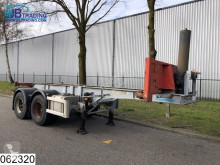 Asca Container Tipper Container chassis, 20 FT, Steel suspension semi-trailer